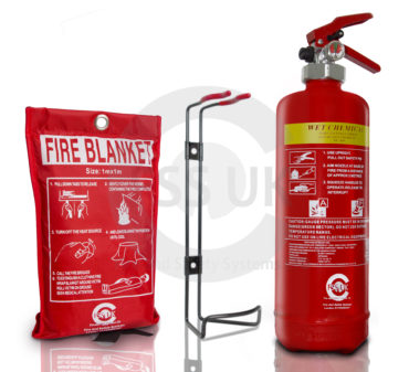 2L Wet Chemical Fire Extinguisher - Blanket