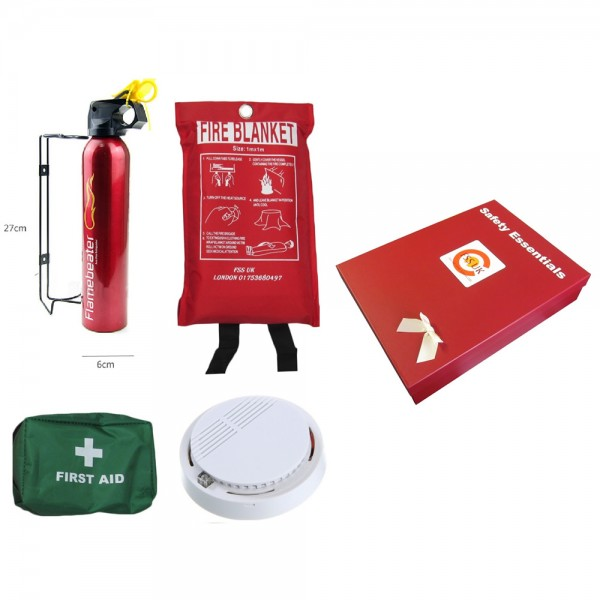 safety-essentials-box-fire-extinguisher-blanket-first-aid-smoke-detector-ce