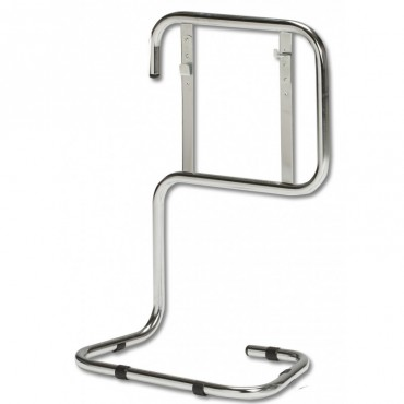 fss uk chrome tubular fire extinguisher stand double