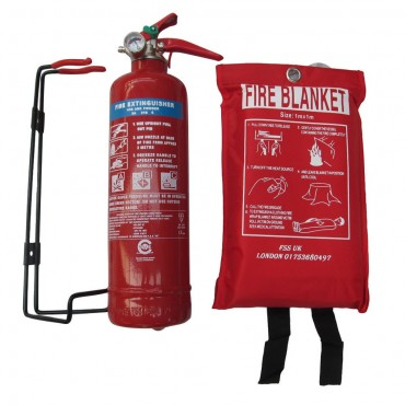 premium fss uk 1 kg abc dry powder fire extinguisher bsi kitemarked ce marked fire blanket