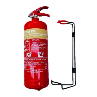 new 2 litre foam afff fire extinguisher british standard kitemark