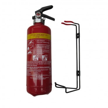 Premium FSS UK Wet Chemical Fire Extinguisher 2 Litre British Standard KITEMARK
