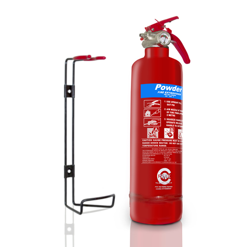 premium fss uk 1 kg abc powder fire extinguisher bsi kitemarked