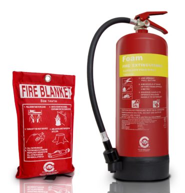 6L Foam Fire Extinguisher - Blanket small
