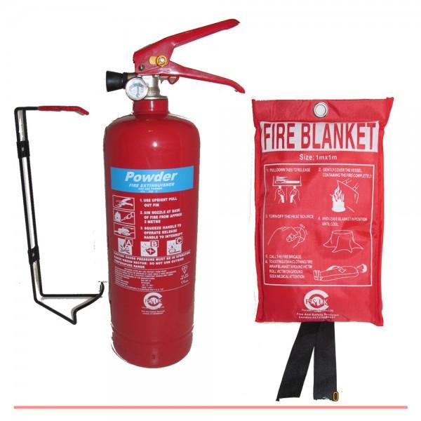 premium fss uk 2 kg abc powder british standard kitemarked fire extinguisher with ce marked fire blanket