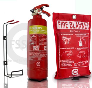 1L Foam Fire Extinguisher + b small