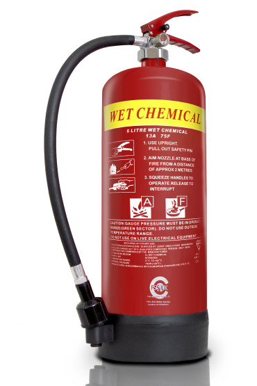6L Wet Chemical Fire Extinguisher