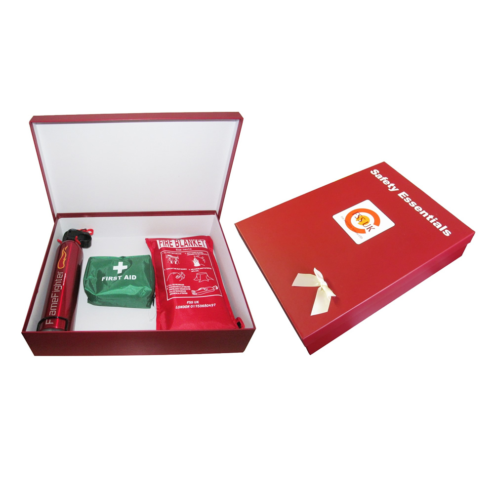 fire safety essentials for all fire extinguisher blanket first aid kit ce marked