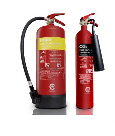 6L Foam Fire Extinguisher - 2kg CO2 Fire Extinguisher small